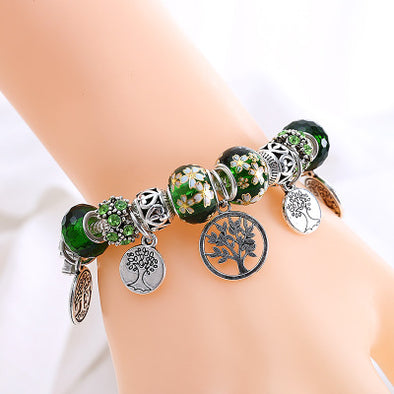 Crystal Tree of Life Bracelet