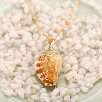 Phnom Penh Conch Shell Necklace - Bestgoodshop