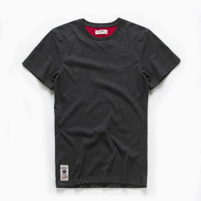 Round-Neck Cotton Solid Short-Sleeve T-Shirt - Bestgoodshop