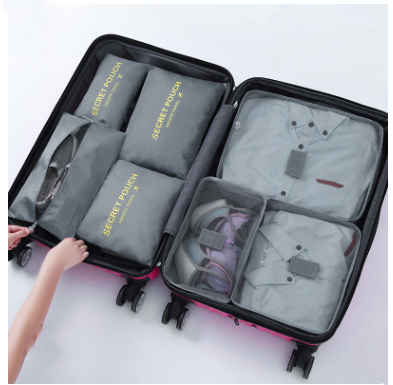 Travel Clothing Bra Storage Bag 6 Sets Of Classification Travel Accessories For Women