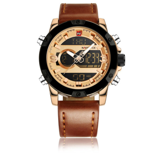 Casual quartz watch men's waterproof watch - Bestgoodshop