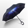 New Windproof C-Handle Double Layer Inverted Umbrella Cars Reversible Umbrella 5pc - Bestgoodshop
