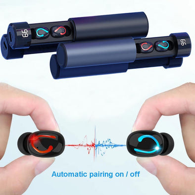 Q67 Pull-out Bluetooth Headset