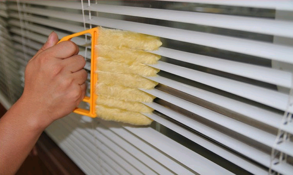 Venetian blind cleaning brush cleaning brush removable and washable blinds brush - Bestgoodshop