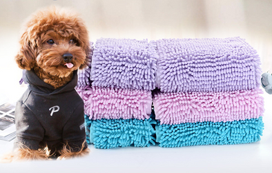 Dog cat bath pet towel