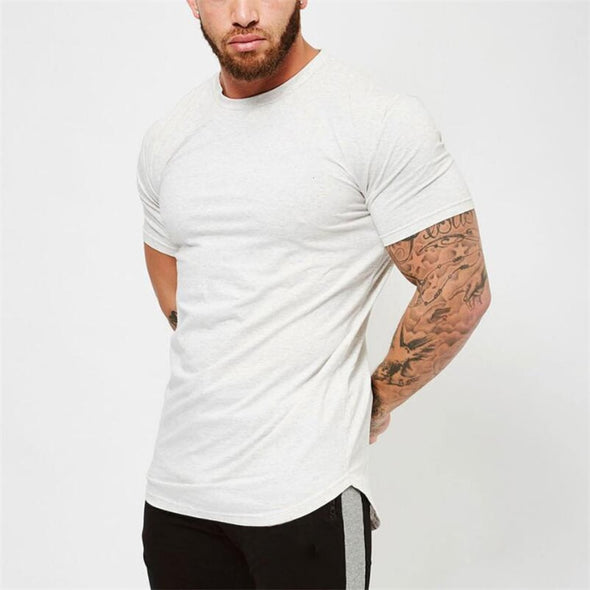 Short-Sleeve Round Neck T-Shirt - Bestgoodshop