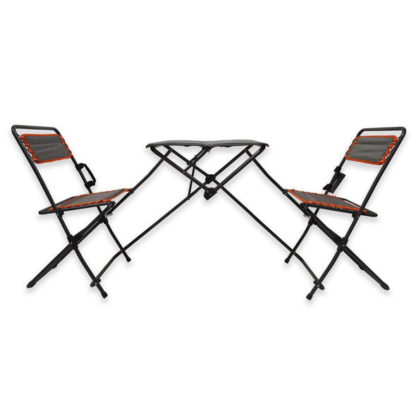 Outdoor Table and Bistro Chairs Set - Bestgoodshop
