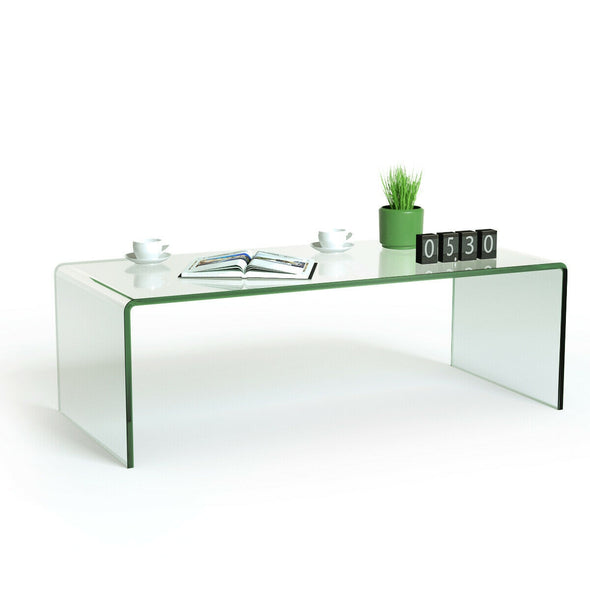 Tempered Glass Coffee Table - Bestgoodshop