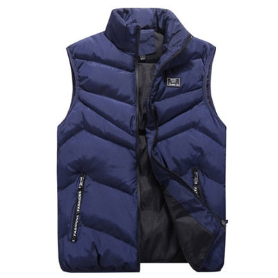 Solid Winter Cotton Vest