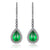 4 Carat Emerald Earrings