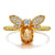 Queen Bee Citrine Ring