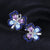 Luxury Amethyst, Sky Blue Topaz and Spinel Butterfly Clip Earrings