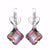 Luxury Mystic Topaz Drop Earrings
