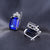 Royal Blue Ocean Sapphire Earrings