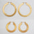 Vintage Large Hoop Earrings