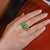 Mesmerizing 5.55ct Emerald Gold Ring