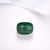 Checkerboard Cut Malachite Silver Ring