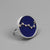 Handmade Lapis Lazuli Great Bear Constellation Ring