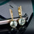 Alluring 3.21ct Green Amethyst & Diamond Earrings