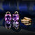 Alluring 9.3ct Amethyst & Diamonds 2 in 1 Gold Earrings