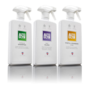 Autoglym Bodywork & Interior Cleaning Kits Bundle