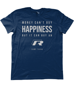 Unisex T-Shirt | Money Can't Buy Happiness | Golf R