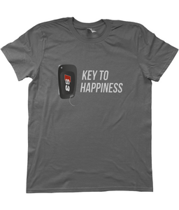 Unisex T-Shirt | Key To Happiness | Audi S3