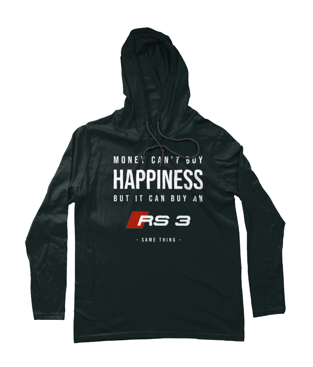 Happiness Hooded T-Shirt - Audi RS3