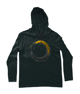 Tire Track Hooded T-Shirt