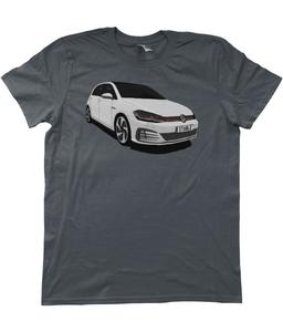 Unisex T-Shirt | White Golf GTI (Front)