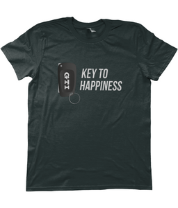Unisex T-Shirt | Key To Happiness | GTI