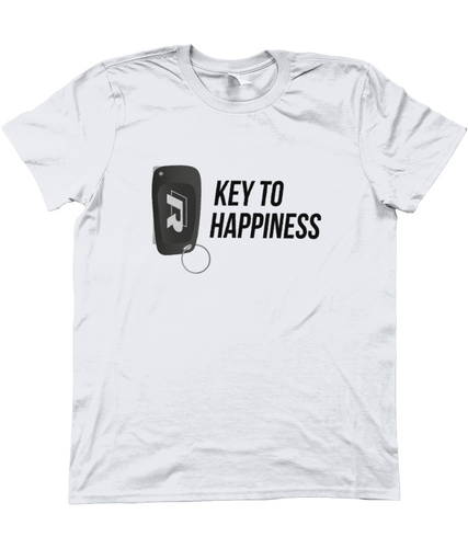 Unisex T-Shirt | Key To Happiness | Golf R (Alternative)