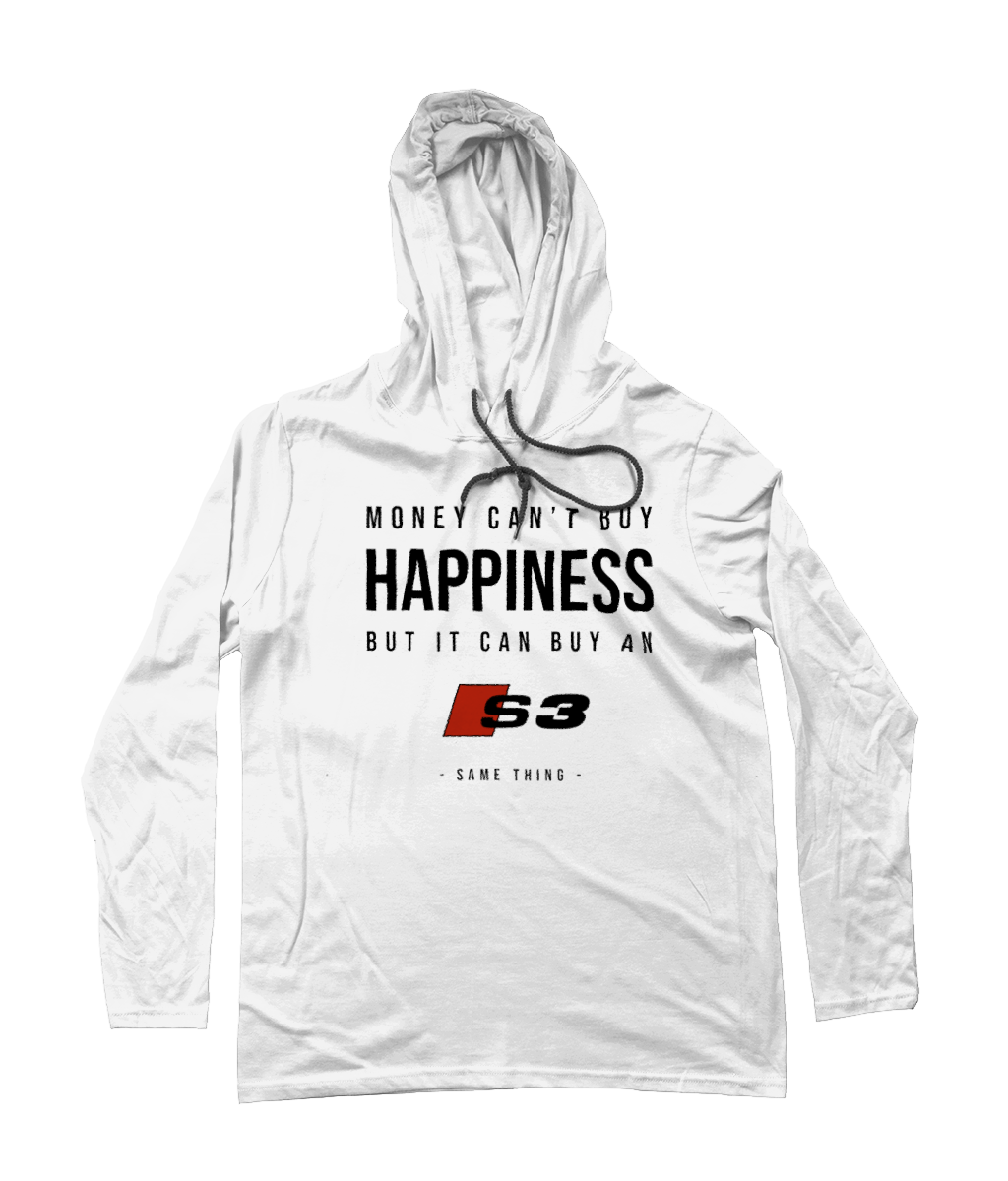 Happiness Hooded T-Shirt - Audi S3 (Alternative)