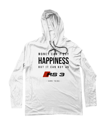 Happiness Hooded T-Shirt - Audi RS3 (Alternative)