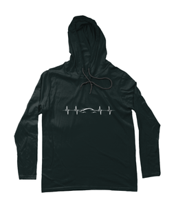 Car Heartbeat Hooded T-Shirt