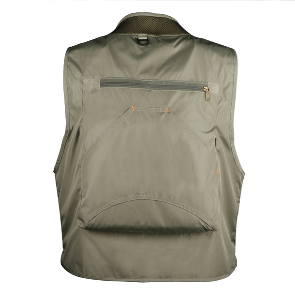 Multi-Pocket Fishing Vest