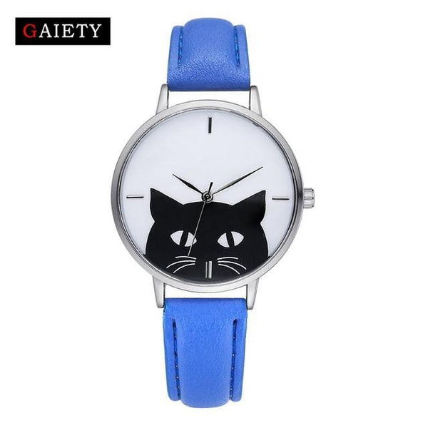 Female Cat Watches Quartz Watch