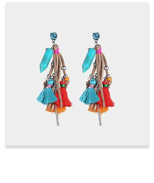 Tassel Boho earrings