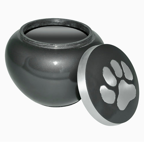 Large Size Slate Brown Pet Urn