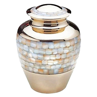 Mother of Pearl Urn