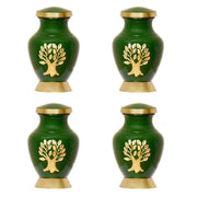 Set of 4 Keepsake Urns