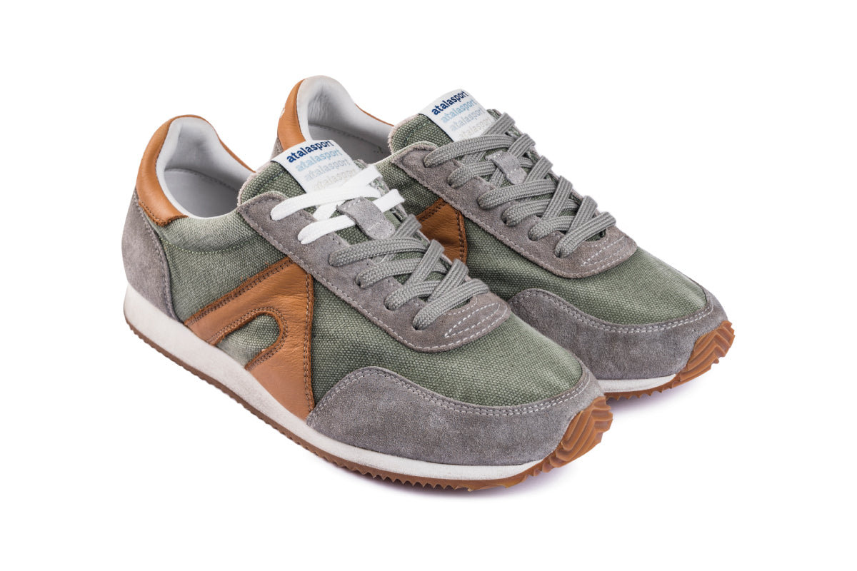 Super Canvas - Military Green / Tabac
