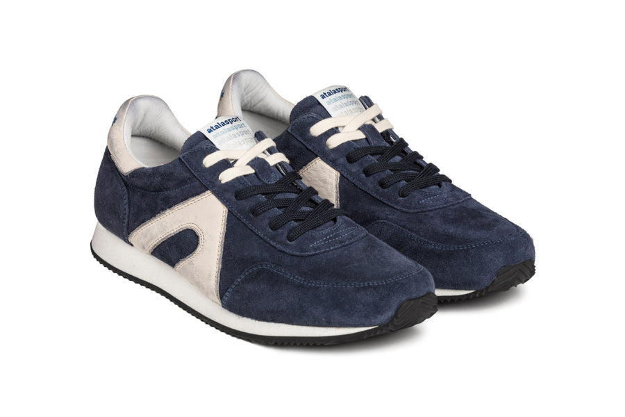 Super suede - Blue / Cream