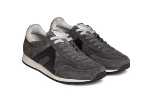 Super suede - Ash Grey / Black