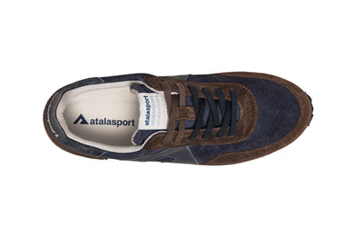 Super suede - Blue / Brown