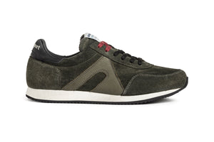 Super suede - Birch Green / Black