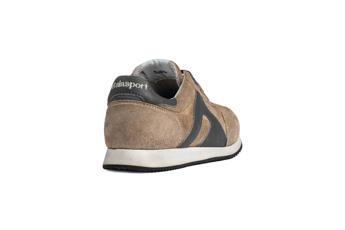 Super suede - Cappuccino / Grey Smoke