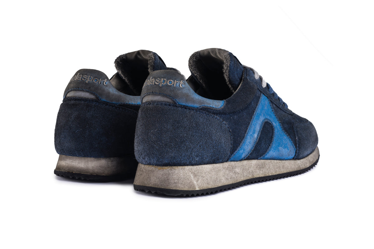 Super Suede Dirty - Blue / Azure