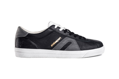 Star Leather - Black / Grey Smoke