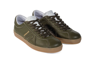 Star Leather - Olive Green